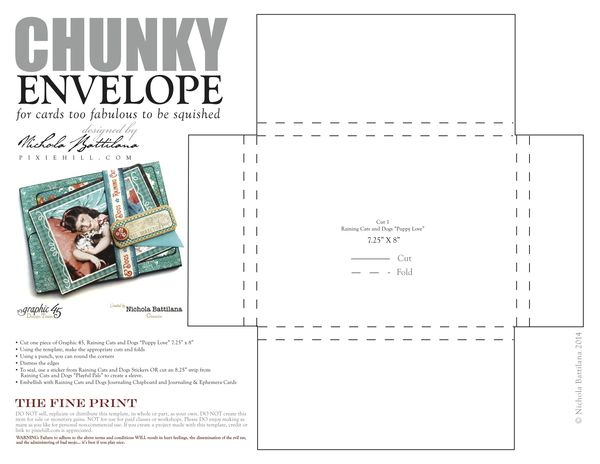 Graphic45_NBattilana_CatsandDogs_TEMPLATE_chunky_envelope