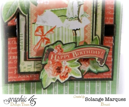 Solange Marques Graphic 45 Time to Celebrate Bag + Tutorial