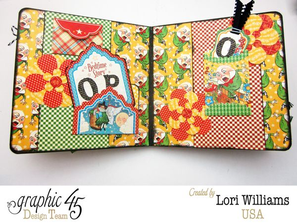 Pocket card mother goose abc book