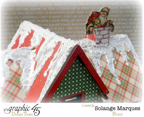 Graphic 45 project- Christmas  House-Twas the Night Before Christmas  (12)