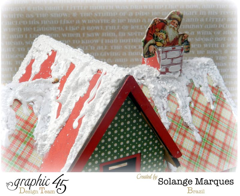 Graphic 45 project- Christmas  House-Twas the Night Before Christmas  (6)