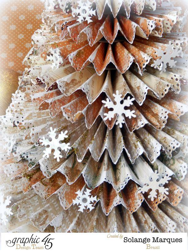 G45 December project Rosette Christmas Tree 1