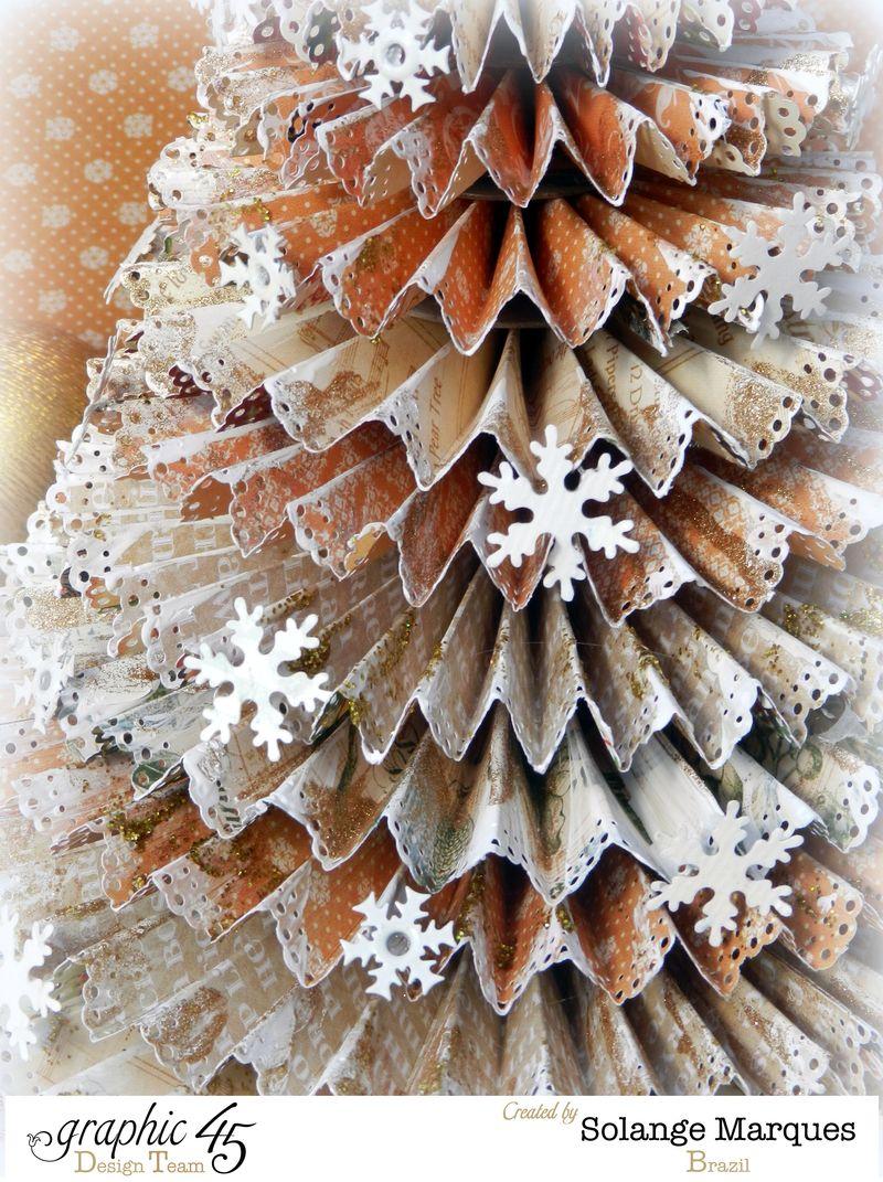 G45 December project Rosette Christmas Tree 4