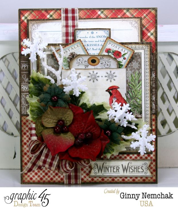 Time to Flourish Christmas Card 1