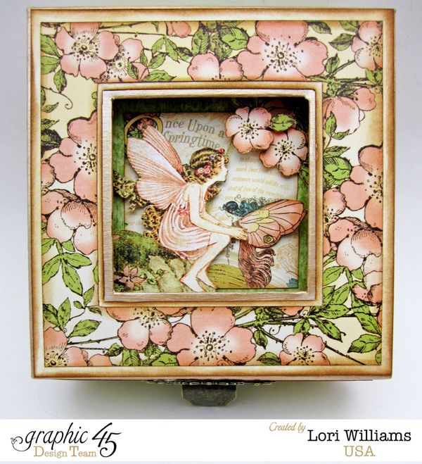 Once Upon a Springtime Graphic 45 Box Lori Williams Top