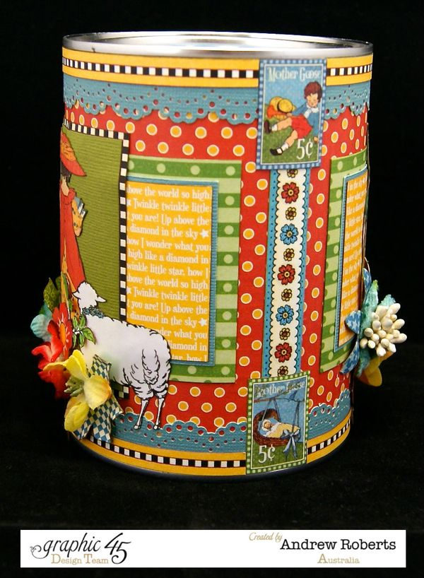 Mother goose piggy bank 4