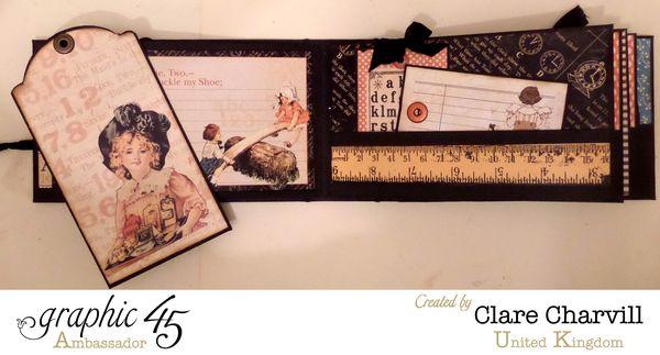 ABC Primer Pencil Case _ Album 6 Clare Charvill Graphic 45