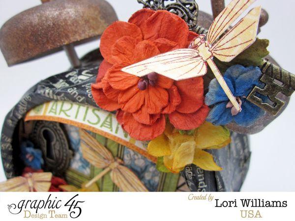Artisians Style Alarm Clock Graphic 45 Lori Williams