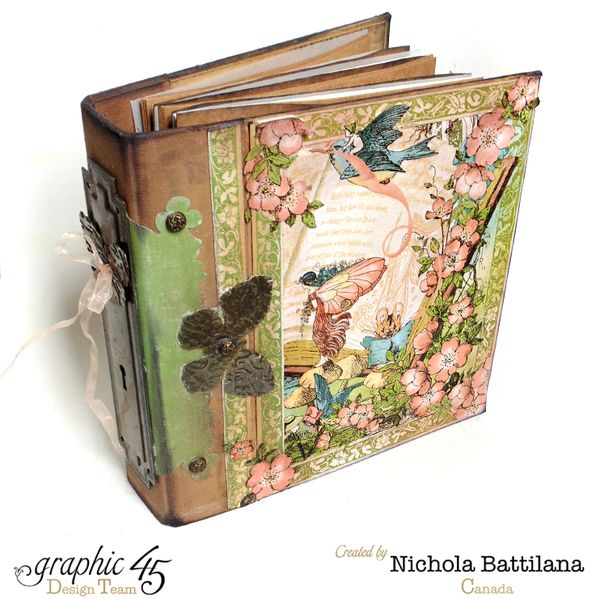 G45 Once Upon A Springtime Mixed Media Book - Nichola Battilana