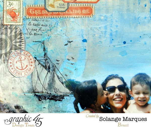 By the Sea layout by Solange Marques for Graphic 45 By the Sea collection.  (1)