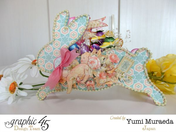 G45 Baby 2 Bride Easter Bunny Wagon and Mini Album1