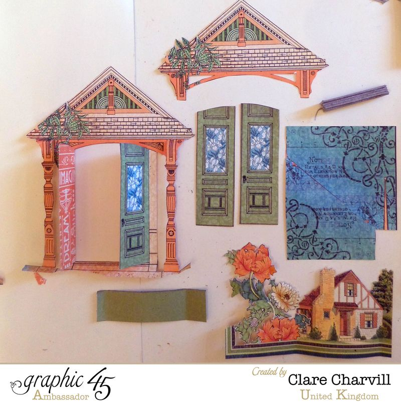 Artisan Style Frame 3 Clare Charvill Graphic 45