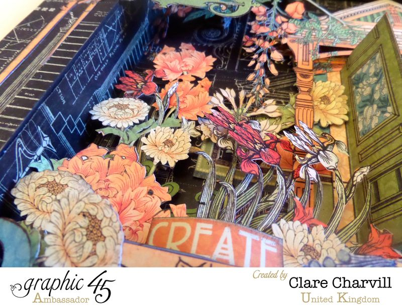 Artisan Style Frame 12 Clare Charvill Graphic 45