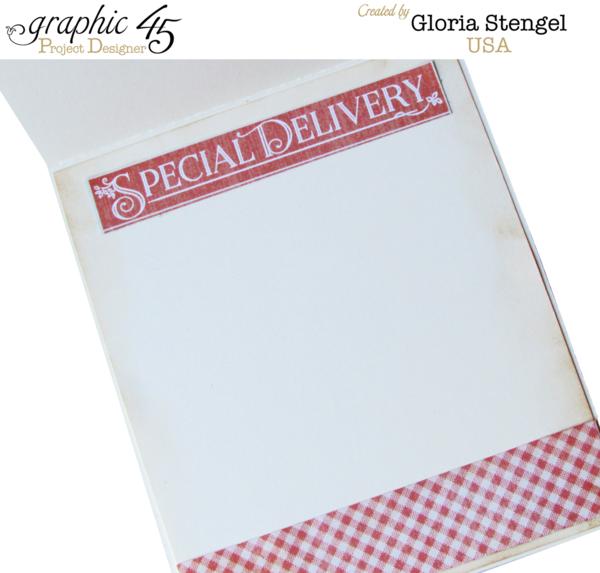 """Special Delivery"" Precious Memories card by Gloria #graphic45"
