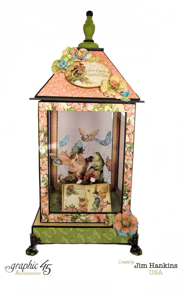 Once Upon a Springtime Lantern by Jim Hankins #graphic45