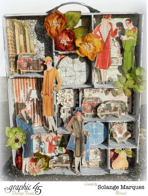 Times Nouveau Configuration Box by Solange Marques- Graphic 45