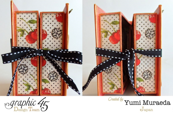 Open Sesame Times Nouveau ATC Book Box by Yumi #graphic45