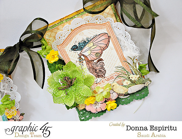 Learn how to make this gorgeous Once Upon a Springtime banner with a tutorial from Donna #graphic45