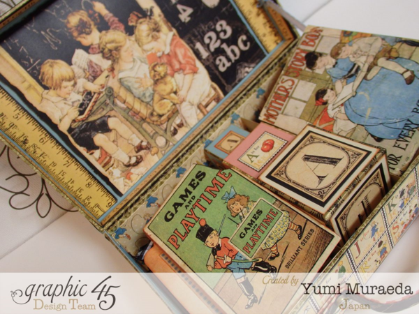 Look at all the amazing creations inside this An ABC Primer case by Yumi! Love this! #graphic45