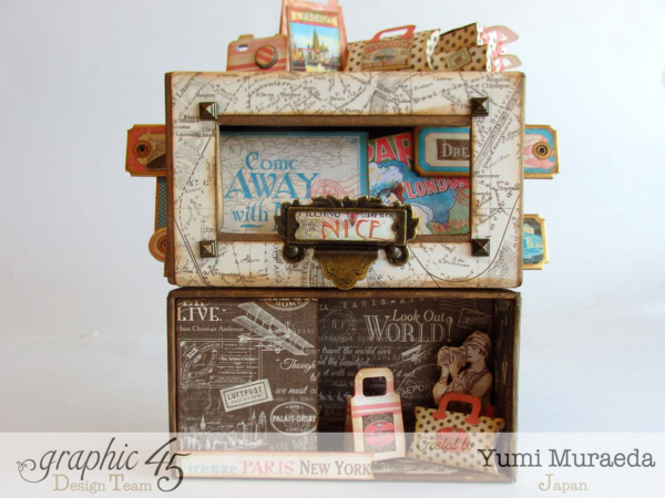 What an amazing Come Away with Me music box by Yumi! Love this #graphic45