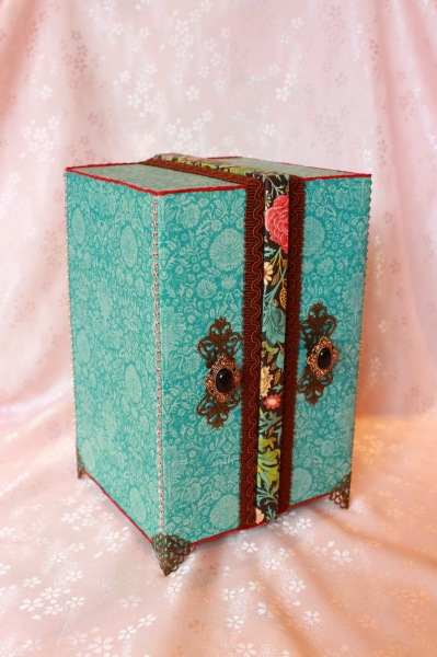 Couture accessory box by Virginie #graphic45
