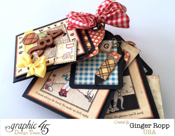 A Fond Farewell to Ginger Ropp #graphic45