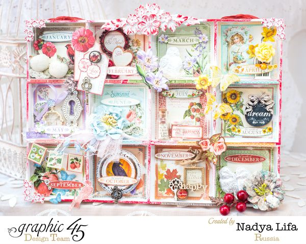 A Fond Farewell to Nadya Lifa #graphic45