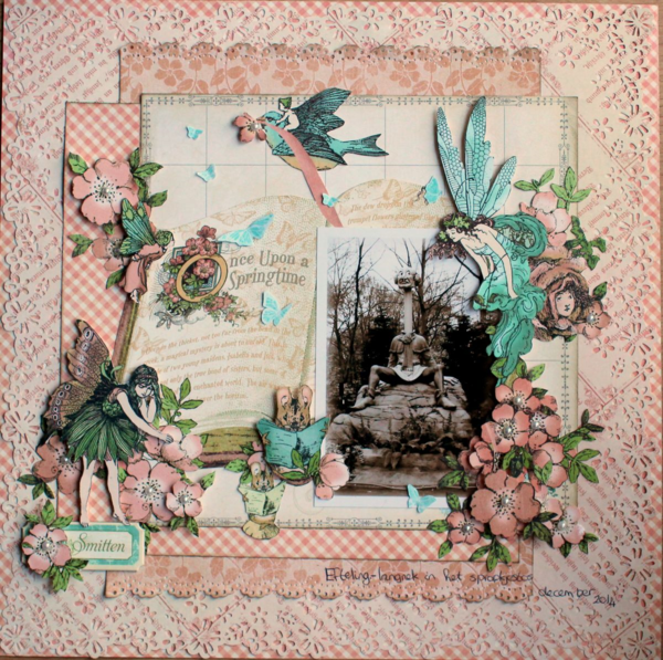 Once Upon a Springtime layout by Romy #graphic45