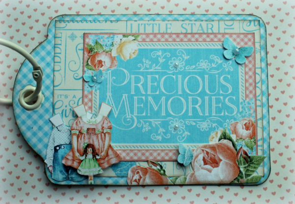 Precious Memories tag album by Romy #graphic45