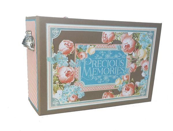 Baby Girl Mini Album, Precious Memories, by Danielle Copley, Graphic 45, photo 1
