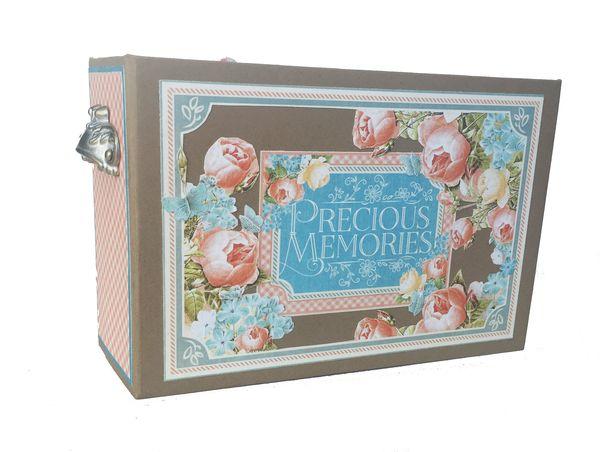 Baby Girl Mini Album, Precious Memories, by Danielle Copley, Graphic 45, photo 1