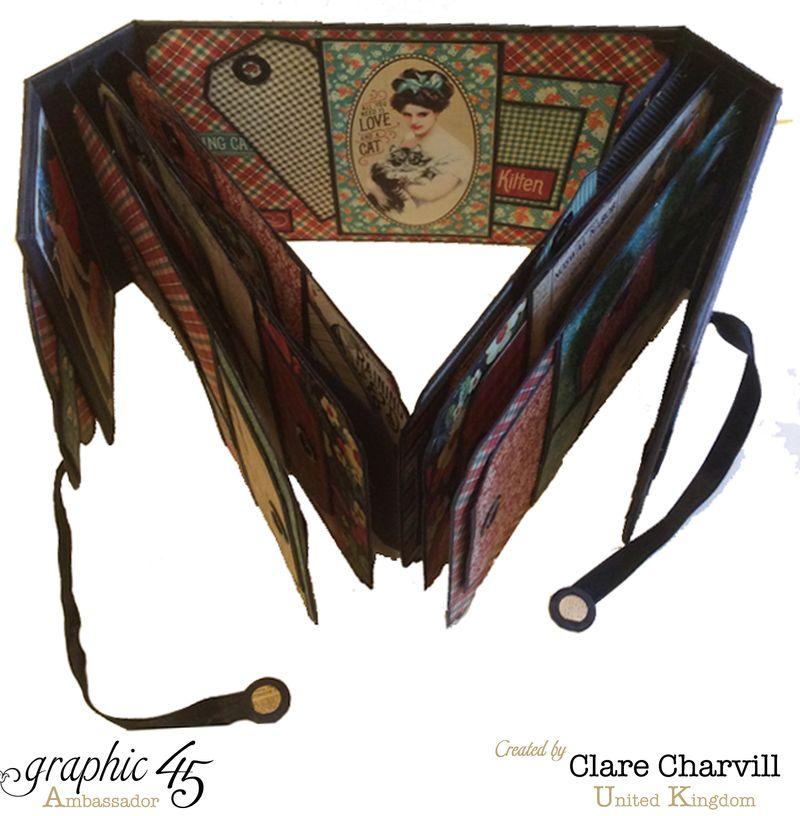 RCD Flip Flap Album Clare Charvill Graphic 45 3