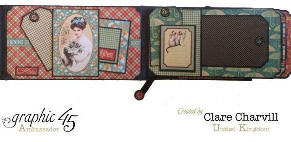 RCD Flip Flap Album Clare Charvill Graphic 45 1