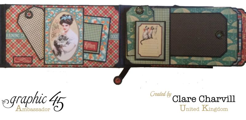 RCD Flip Flap Album Clare Charvill Graphic 45 12