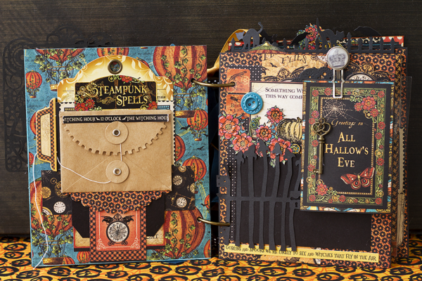 Steampunk Spells mini album by Tanya Dudkina #graphic45
