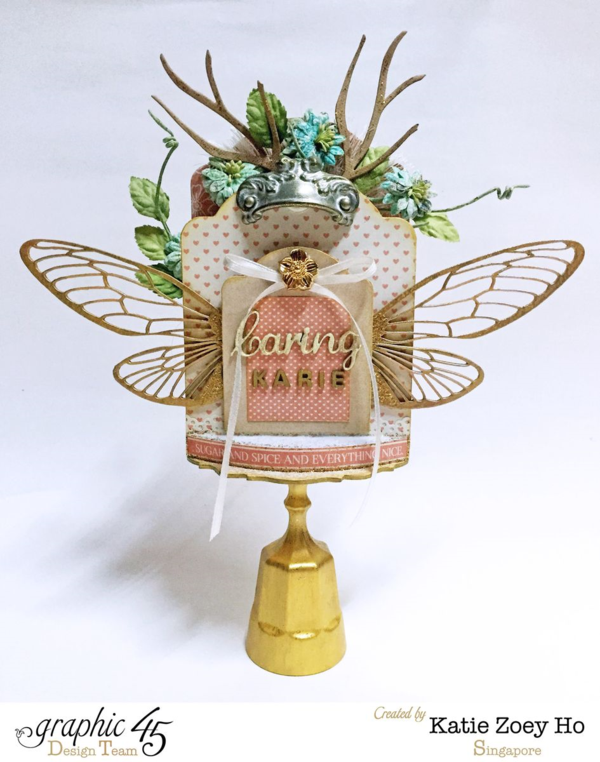 Precious Memories Tooth Fairy Shrine by Katie Zoey Ho #graphic45
