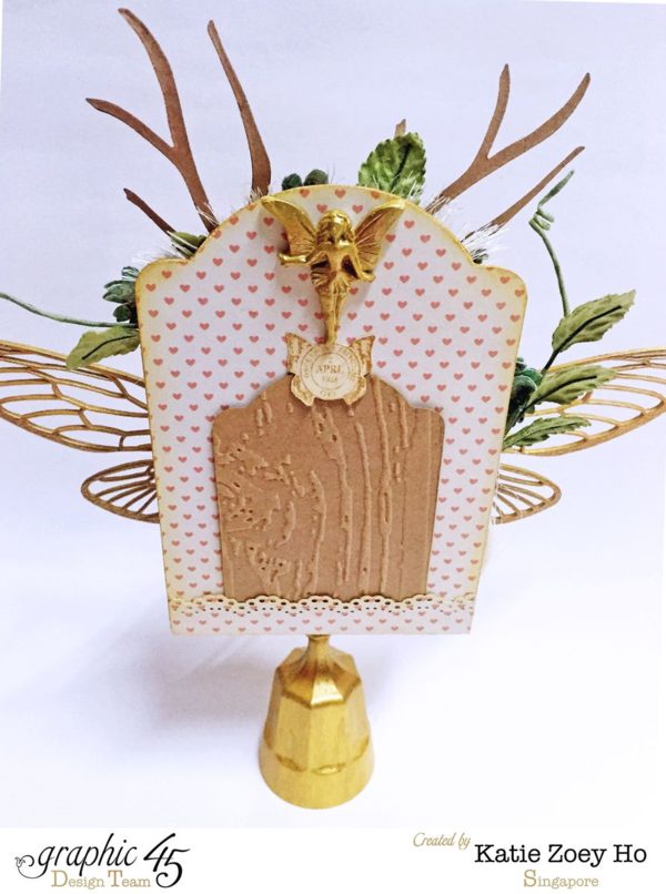 Gorgeous Tooth Fairy Shrine by Katie Zoey Ho using Precious Memories #graphic45
