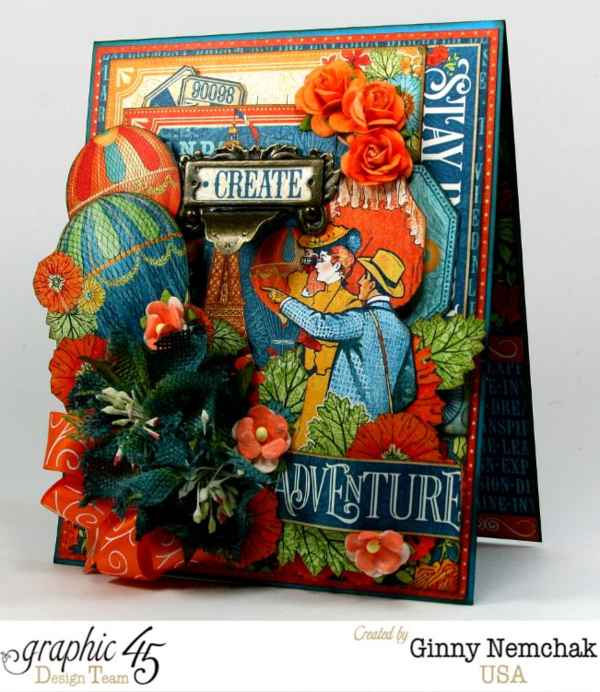 World's Fair card by Ginny #graphic45