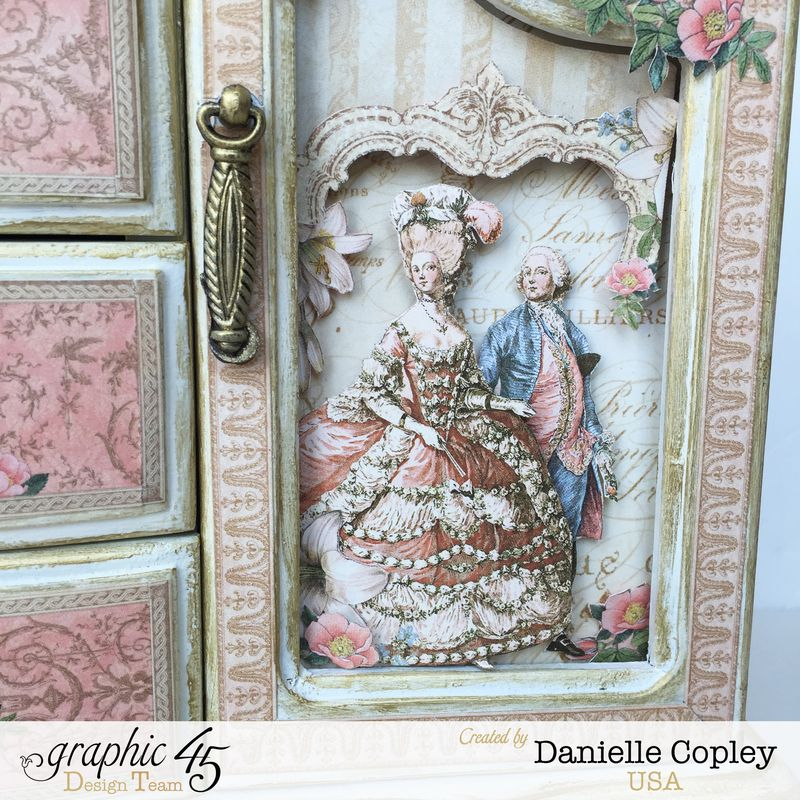 Gilded Lily Jewelry Armoire, Gilded Lily, by Danielle Copley, Graphic 45, photo 2