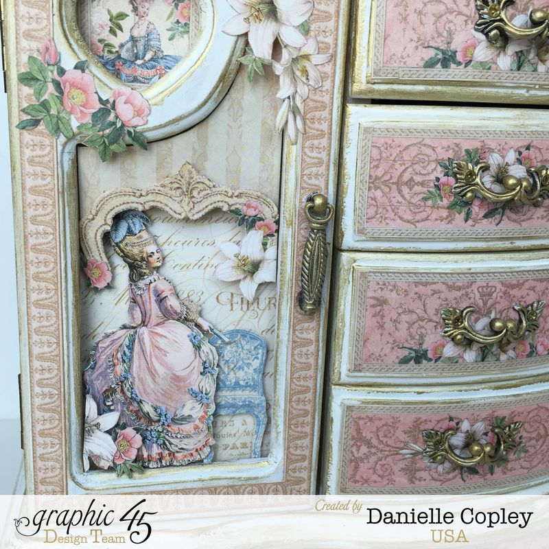 Gilded Lily Jewelry Armoire, Gilded Lily, by Danielle Copley, Graphic 45, photo 3