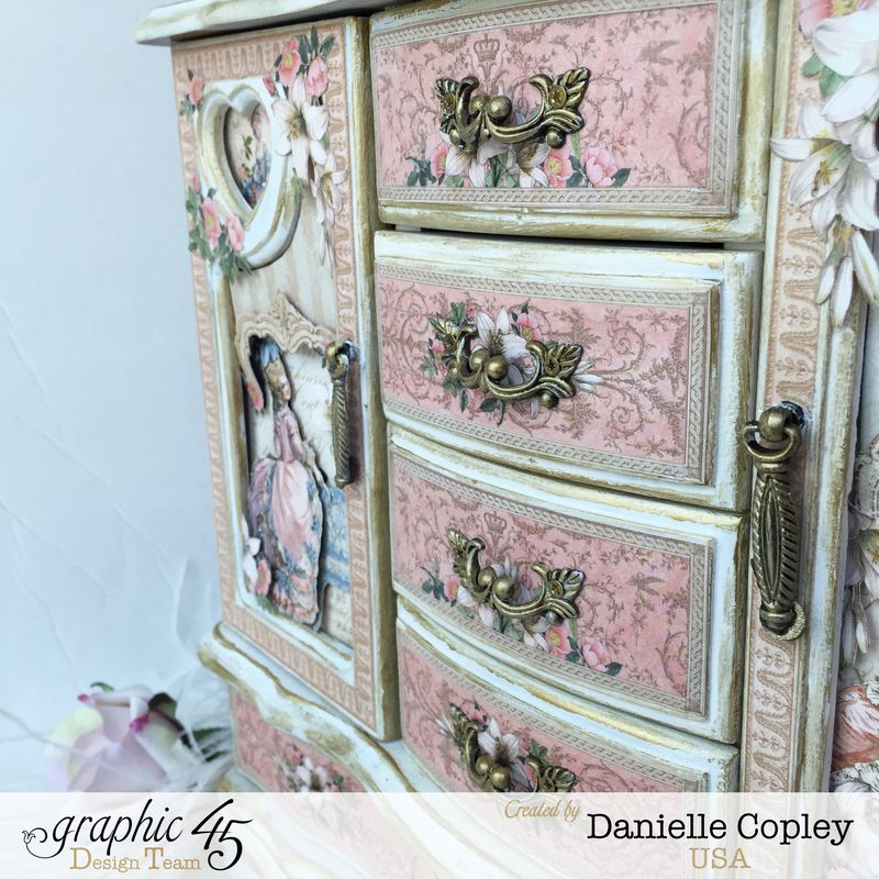 Gilded Lily Jewelry Armoire, Gilded Lily, by Danielle Copley, Graphic 45, photo 6