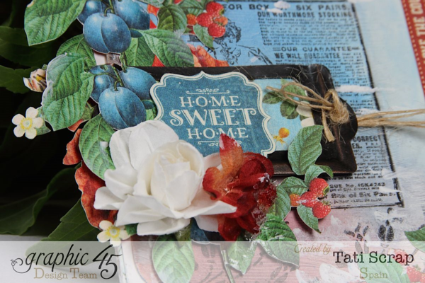 Tati,Canvas,Home Sweet Home, Graphic 45