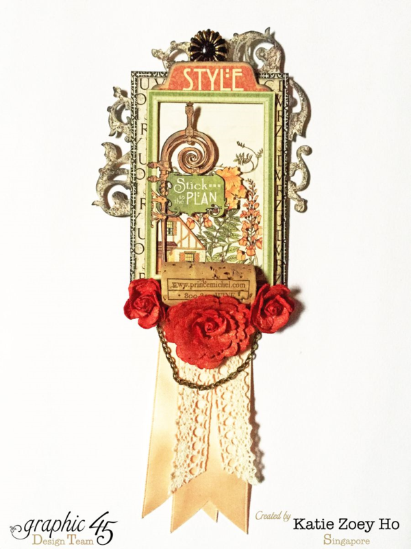 Artisan Style card tags by Katie #graphic45