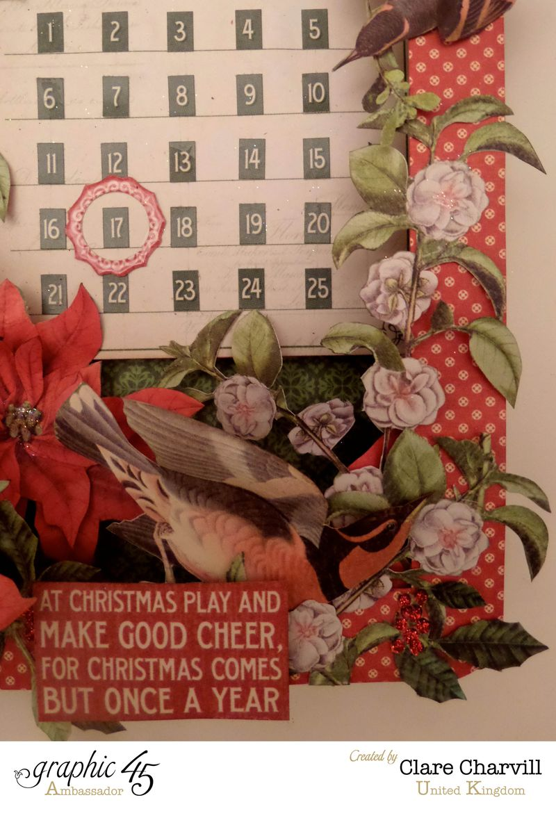 Time to Flourish Altered Art 8 Clare Charvill Graphic 45
