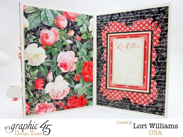 Mon Amour Card by Lori Williams using Graphic 45 Product