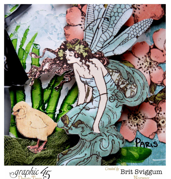 Once upon a springtime layout by Brit #graphic45