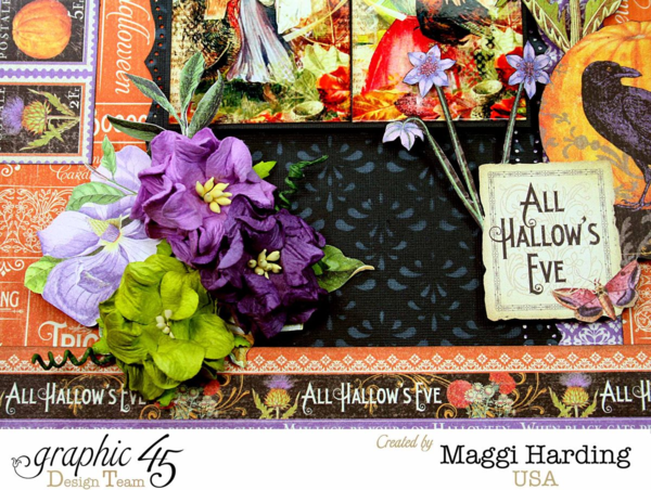 All Hallow's Eve, Time to Flourish, Maggi Harding, Graphic 45
