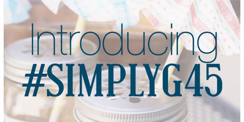 Do you know about #simplyg45? Create great crafts that are affordable and take less than an hour! #graphic45