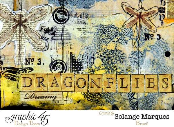 Art Journal pages by Solange Marques- Graphic 45 Botanicabella Deluxe Collector's Edition 2 (6)