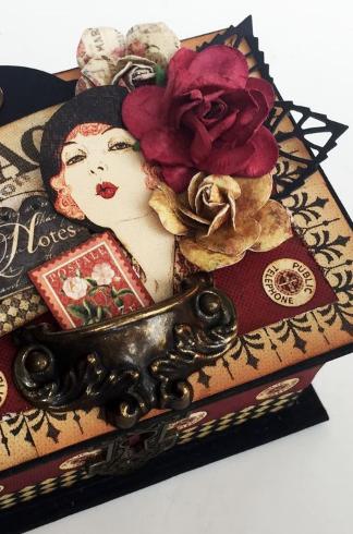 Gratitide Coupon Book Box, Communique, by Danielle Copley, product by Graphic 45, photo 1